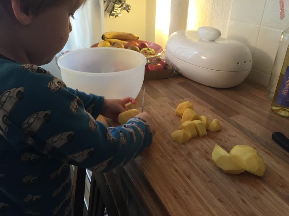 Kartoffelnschneiden